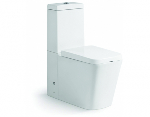 Vas wc Square duobloc cu capac soft close inclus