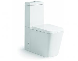 Vas wc Square duobloc cu capac soft close inclus0