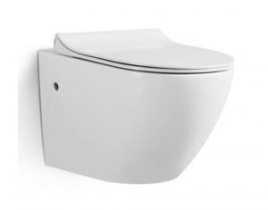 Vas wc suspendat Rimless cu capac soft close inclus0