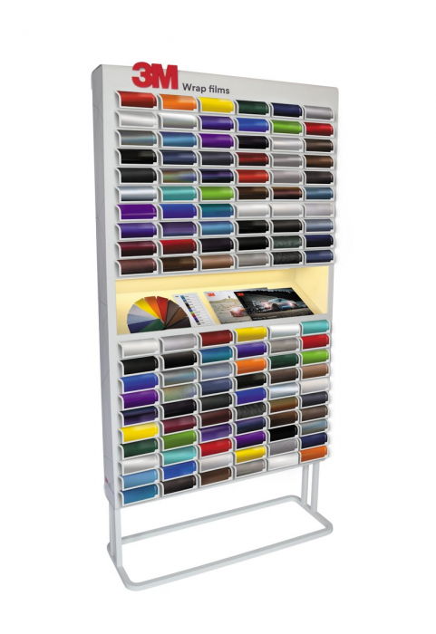 3M Colourboard Wrap Film Display 1