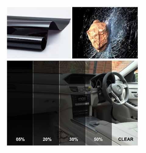3M Scotchshield™ Automotive Security Series - Securitate și protecție solară [2]