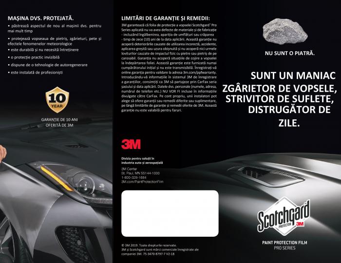 Broșură 3M Scotchgard PRO 1