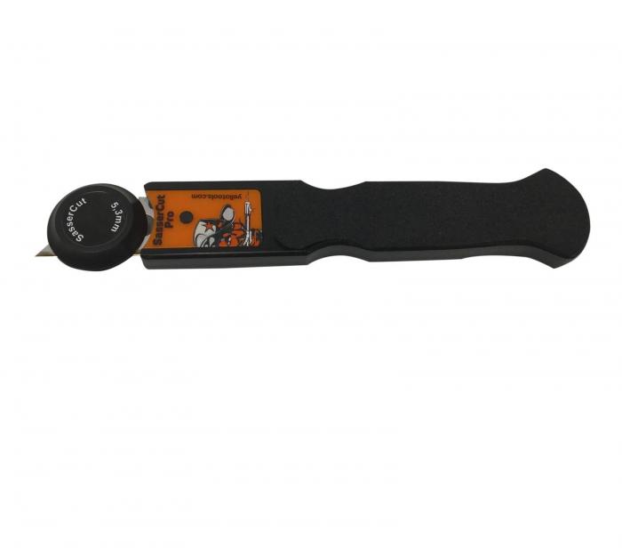 SasserCut Pro - Cutter reglabil pentru taierea foliei in adancituri [0]