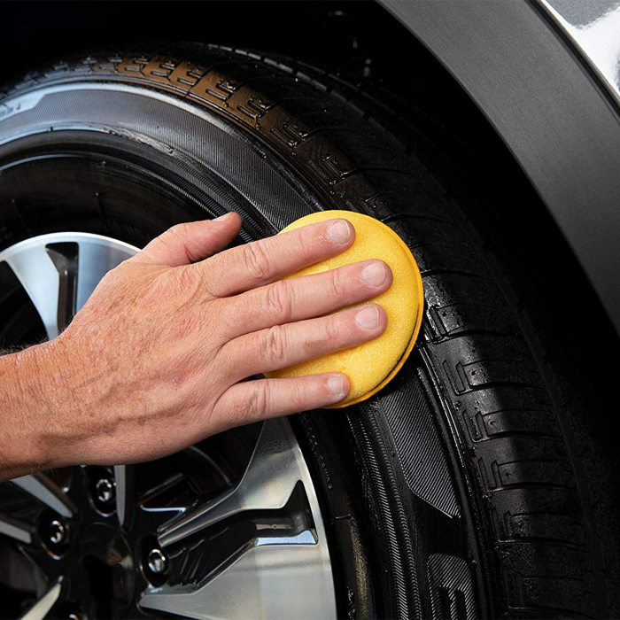Meguiar's Hot Shine Tire Spray - Dressing Anvelope [4]
