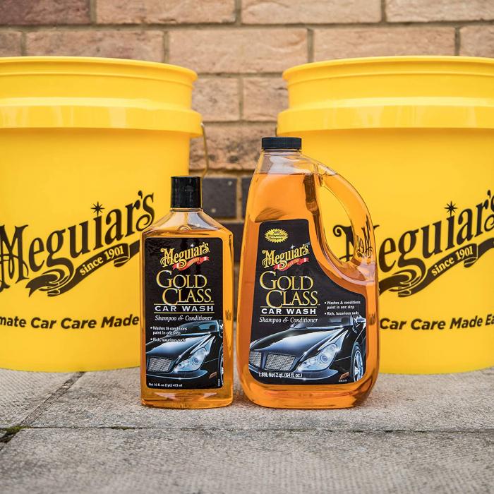 Meguiar's Gold Class Car Wash Shampoo & Conditioner - Sampon Auto 476 ml [1]