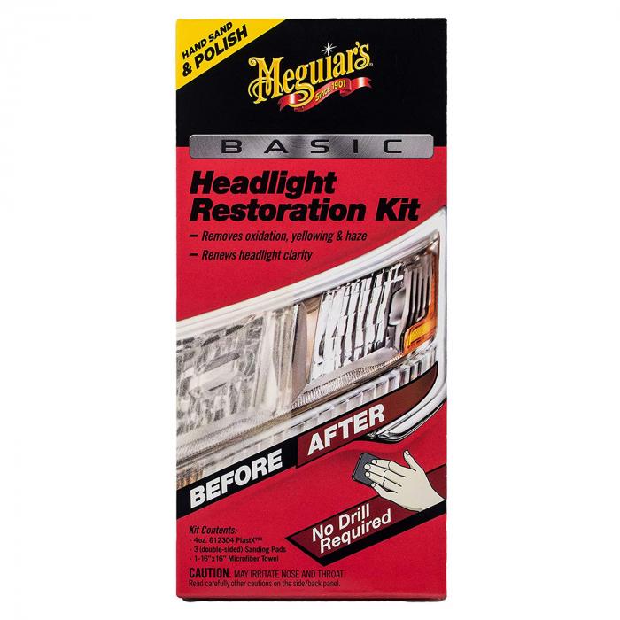 Meguiar's Basic Headlight Restoration Kit - Kit Polish Faruri [1]