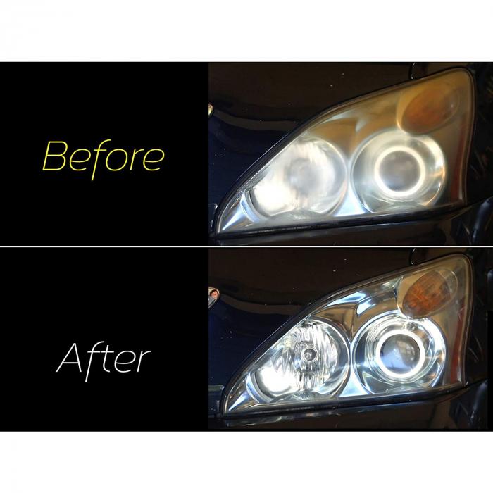 Meguiar's Basic Headlight Restoration Kit - Kit Polish Faruri [5]