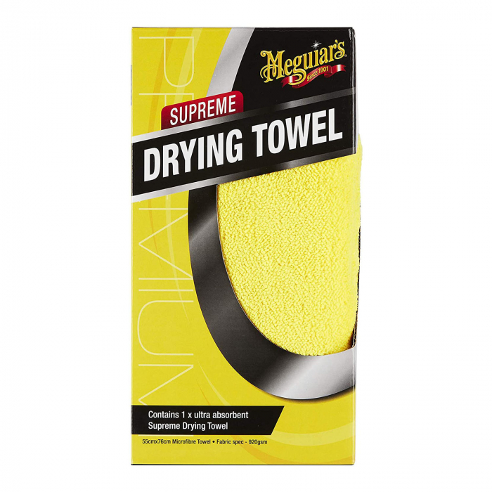 Meguiar's Supreme Drying Towel - Laveta Microfibra Uscare 0