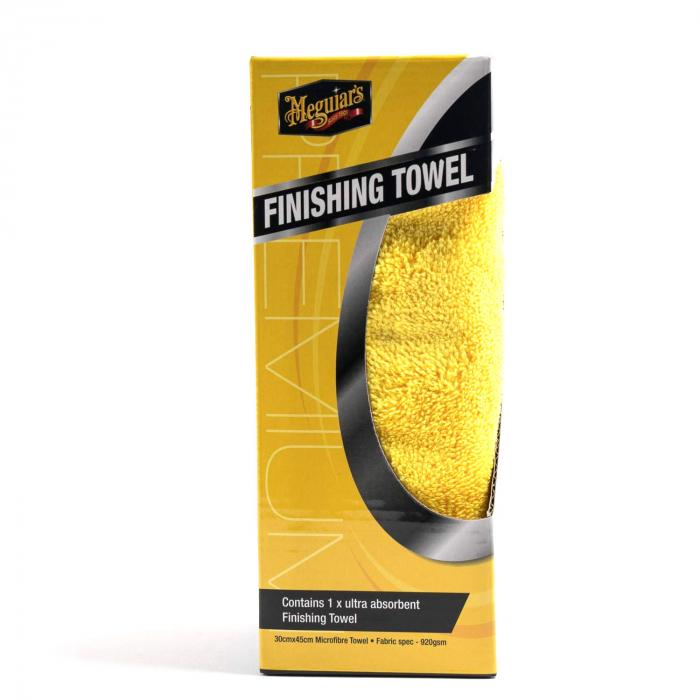 Meguiar's Finishing Towel 30x45 cm - Laveta Microfibre [0]