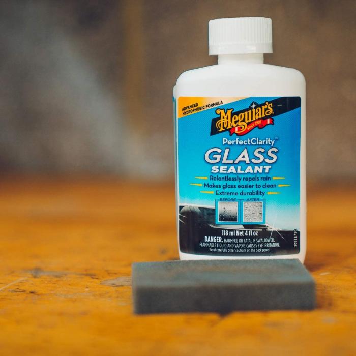 Meguiar's Perfect Clarity Glass Sealant - Tratament Hidrofob Geamuri [1]