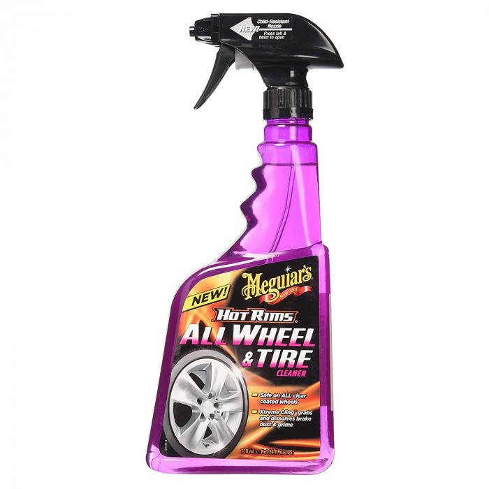 Meguiar's Hot Rims All Wheel & Tire Cleaner - Solutie Curatare Jante [0]