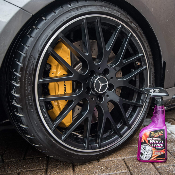 Meguiar's Hot Rims All Wheel & Tire Cleaner - Solutie Curatare Jante [5]