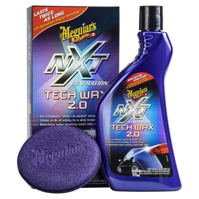 Meguiar's Nxt Generation Tech Wax 2.0 532ML - Ceară Lichidă 0