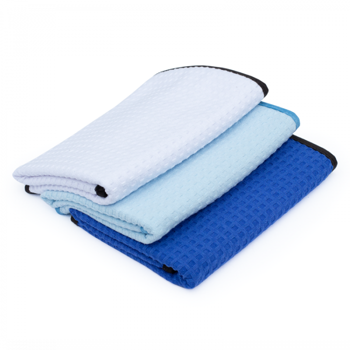 DRY ME A RIVER™ WAFFLE WEAVE TOWEL [0]