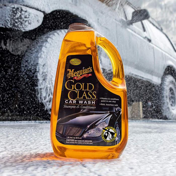 Meguiar's Gold Class Car Wash Shampoo & Conditioner - Sampon Auto 1,9 L [2]