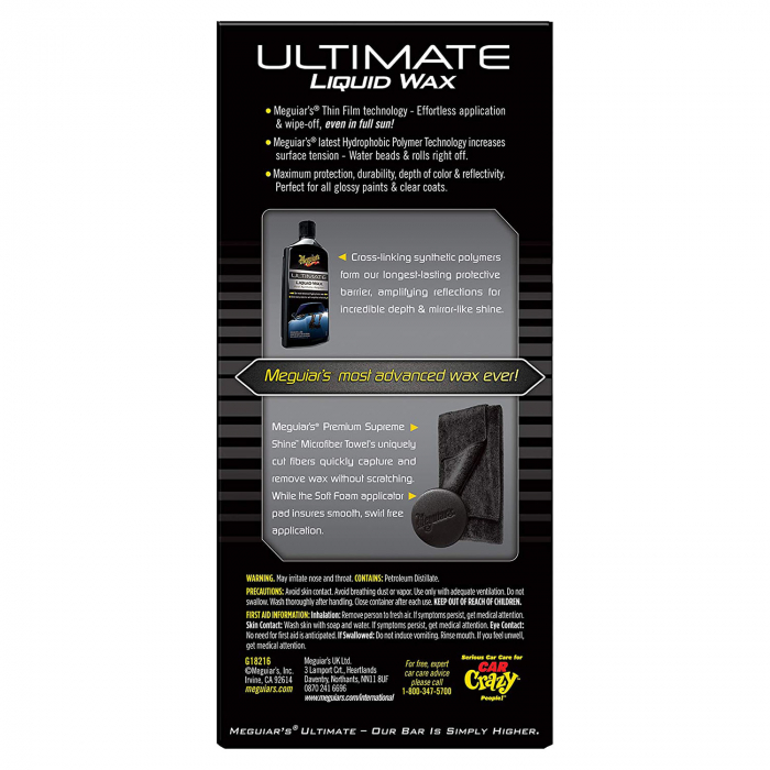 Meguiar's Ultimate Wax Liquid - Ceara Auto Lichida 473 ML 3