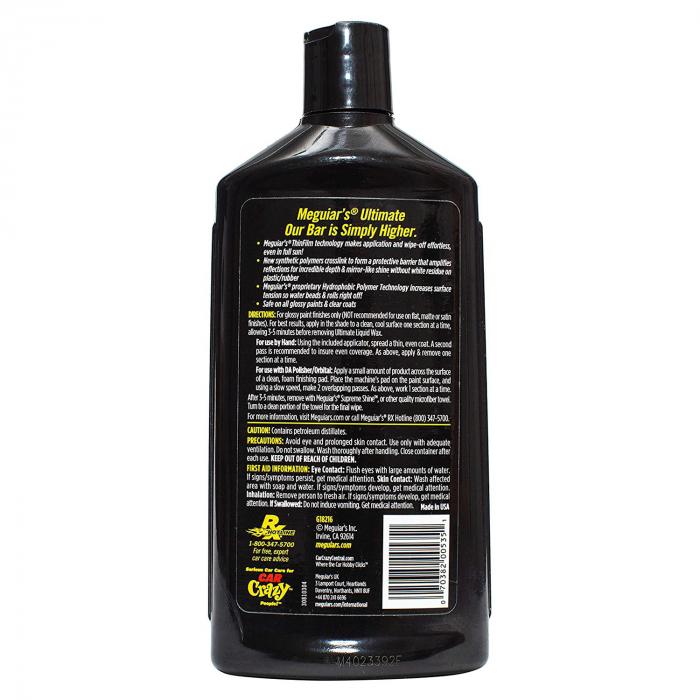 Meguiar's Ultimate Wax Liquid - Ceara Auto Lichida 473 ML 2