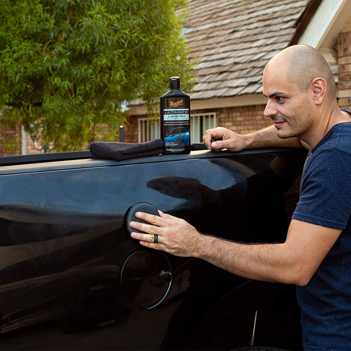 Meguiar's Ultimate Wax Liquid - Ceara Auto Lichida 473 ML 5