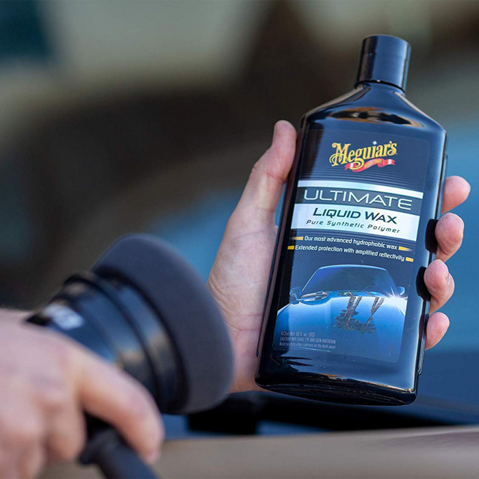 Meguiar's Ultimate Wax Liquid - Ceara Auto Lichida 473 ML 4