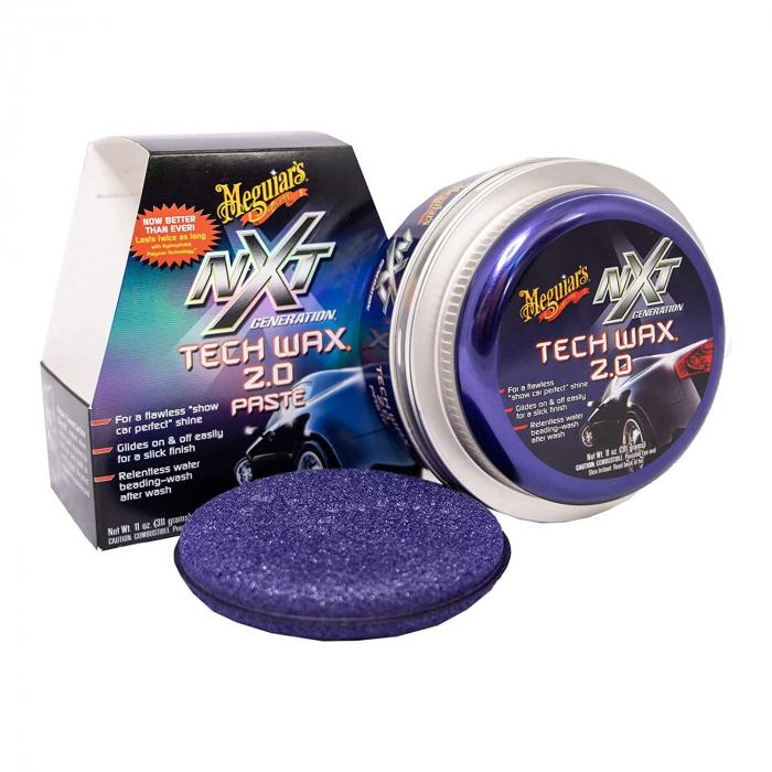 Meguiar's NXT Tech Wax 2.0 Paste - Ceară Auto Solidă 0