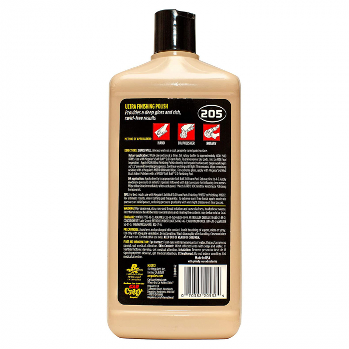 Meguiar's Ultra Finishing Polish M205 - Polish Auto Finish 1