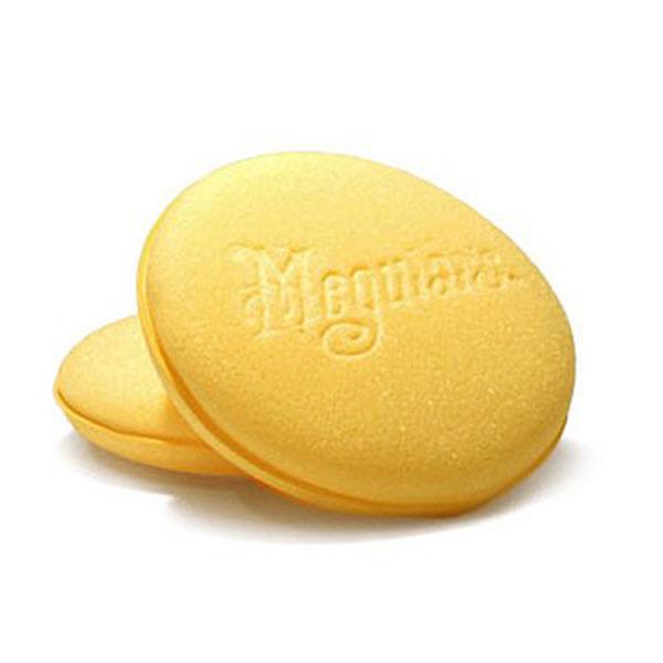 Meguiar's Bulk Yellow Aplicator - Burete Aplicator Polisare Galben 101MM 1