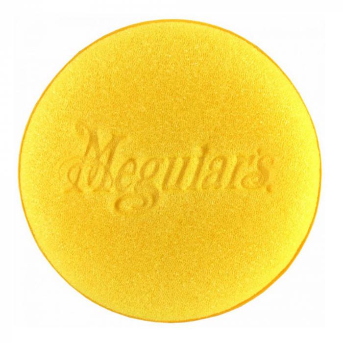 Meguiar's Bulk Yellow Aplicator - Burete Aplicator Polisare Galben 101MM 2