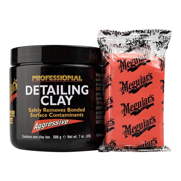 Meguiar's Aggressive Detailing Clay - Argilă Agresivă Decontaminare 0