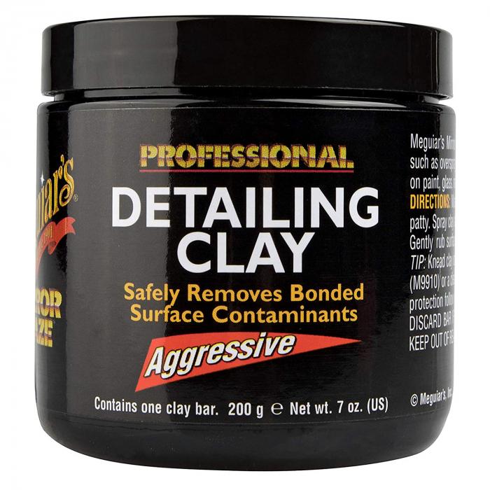 Meguiar's Aggressive Detailing Clay - Argilă Agresivă Decontaminare 1