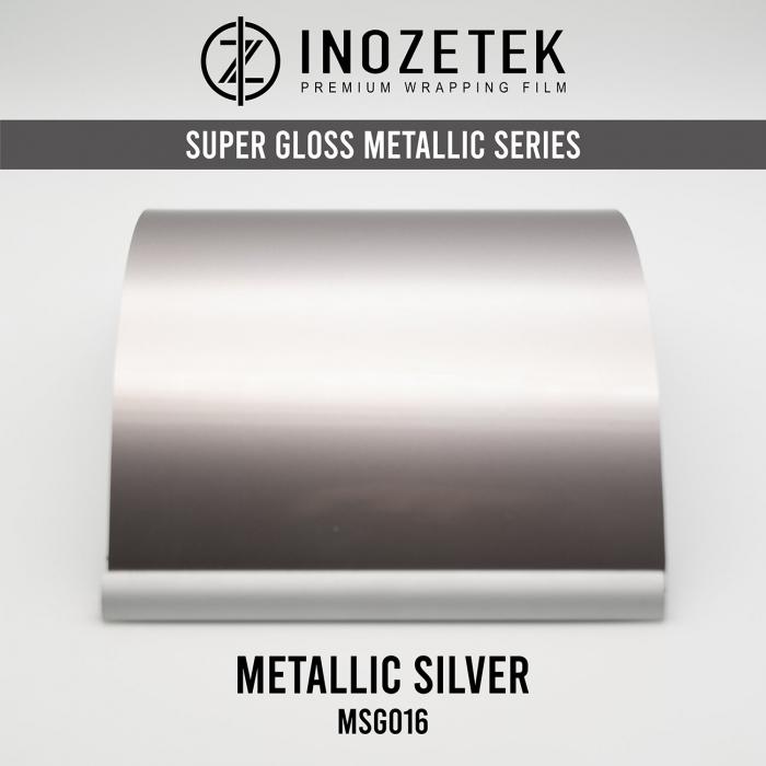 MSG016 Super Gloss Metallic Silver - Argintiu [0]