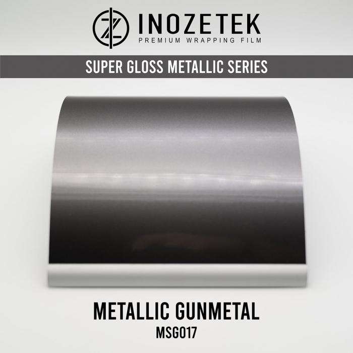 MSG017 Super Gloss Metallic Gunmetal - Gri [0]