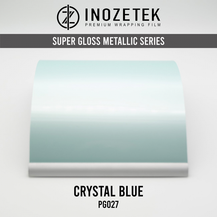 PG027 Gloss Pearlescent Crystal Blue - Albastru [0]