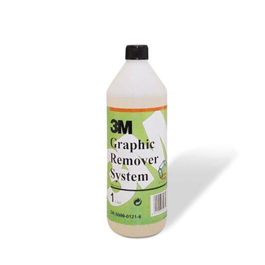 Graphic Remover System - 1L, Solutie indepartare adeziv, grafice 0