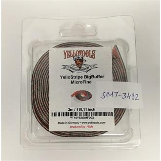 YelloStripe BigBuffer Microfine pentru racleta 2,5 cm x 3 m [0]