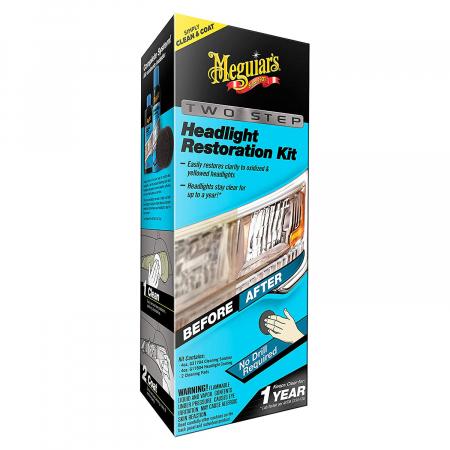 Meguiar's Two Step Headlight Restoration Kit - Kit Restaurare Faruri [1]