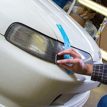 Meguiar's Headlight and Clear Plastic Restoration Kit - Kit Polish Faruri [2]