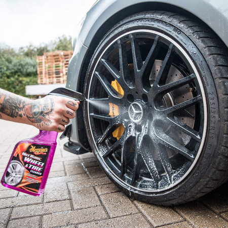 Meguiar's Hot Rims All Wheel & Tire Cleaner - Solutie Curatare Jante [2]