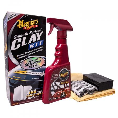 Meguiar's Smooth Surface Clay Kit - Kit Decontaminare Vopsea [0]