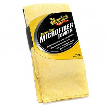 Meguiar's Supreme Shine Microfibre Towels - Prosop Microfibră [0]
