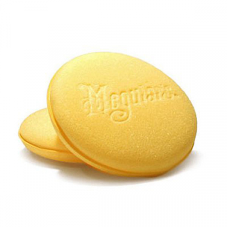 Meguiar's Bulk Yellow Aplicator - Burete Aplicator Polisare Galben 101MM1