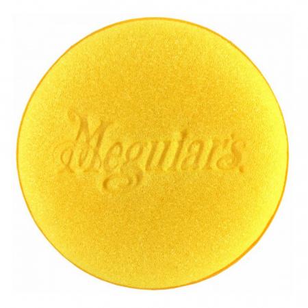 Meguiar's Bulk Yellow Aplicator - Burete Aplicator Polisare Galben 101MM2