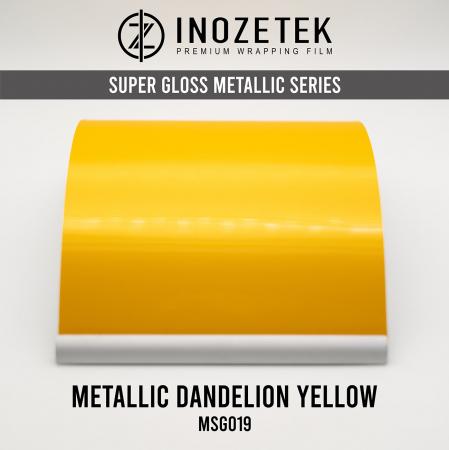 MSG019 Super Gloss Metallic Dandelion Yellow - Galben [0]