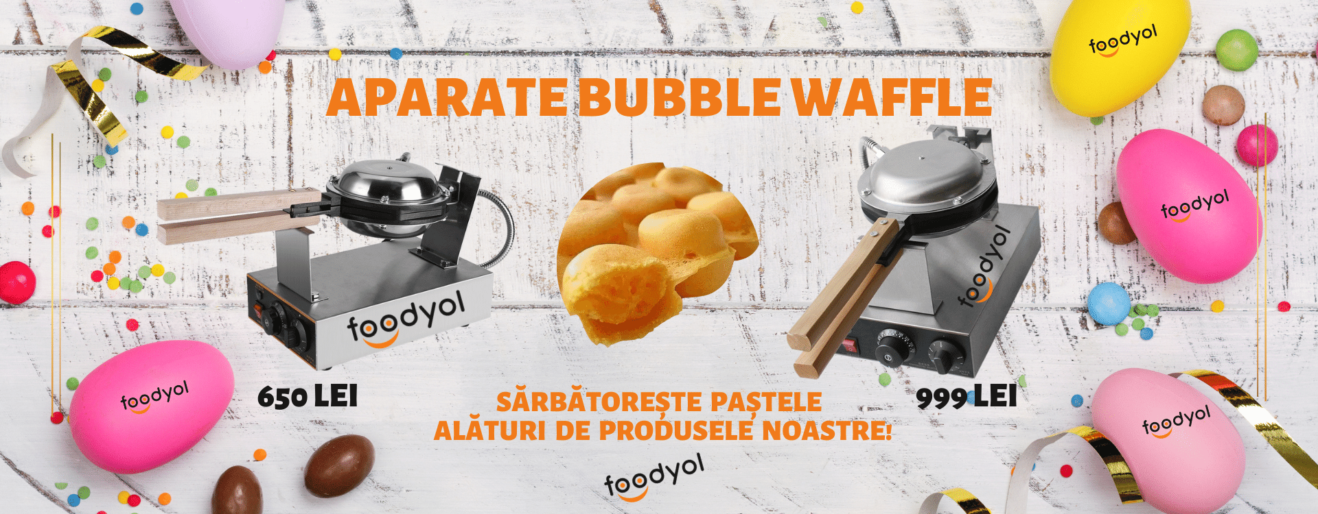 Aparate bubble waffle