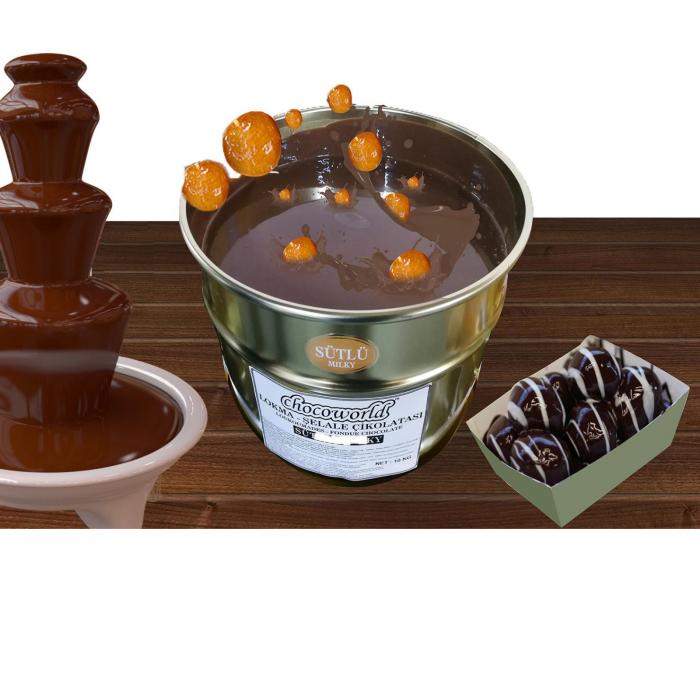 Ciocolata lichida pentru fantani 10kg 0