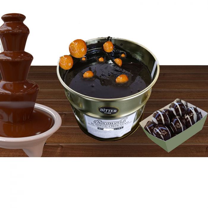 Ciocolata lichida neagra pentru fantani 10kg [0]