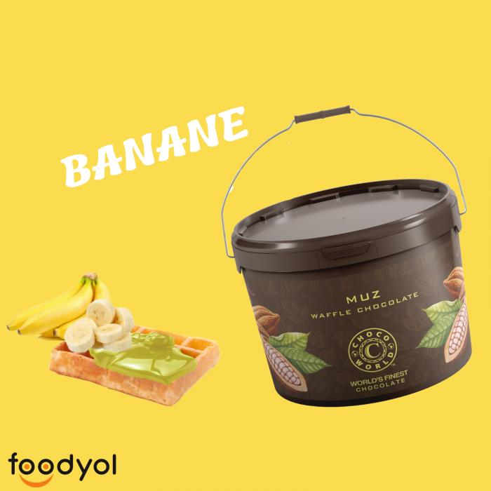 Crema de ciocolata cu banane 10kg 0