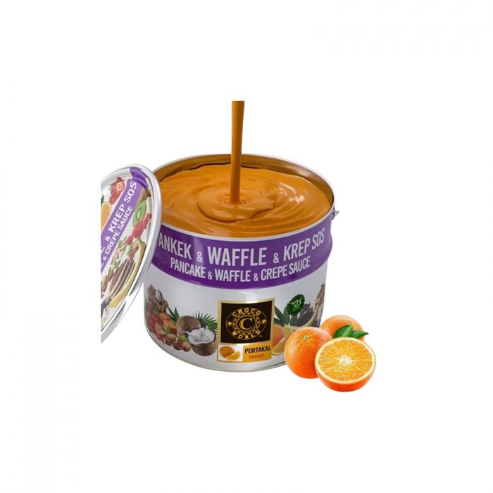 Crema de ciocolata cu portocale 10kg 1