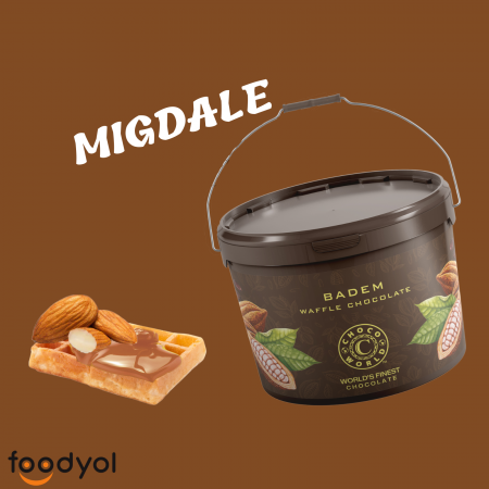 Crema de ciocolata cu migdale 10kg [0]