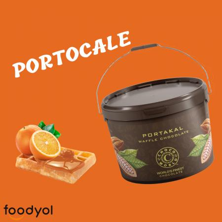 Crema de ciocolata cu portocale(10kg)0