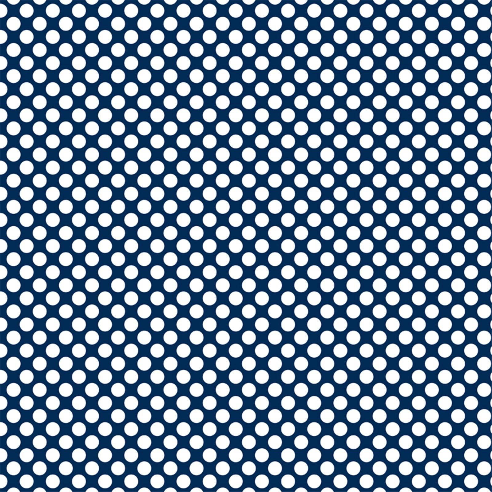 albastru buline